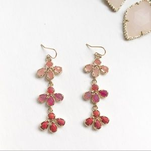 {Kendra Scott} Pink Multi Willa Earrings